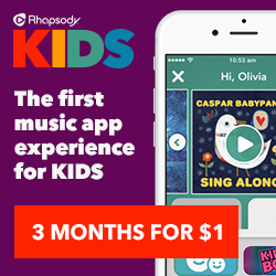 unnamed 2 Some Awesome Music with Rhapsody KIDS and a $300 Target Gift Card Giveaway!