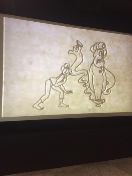 unnamed 31 I Drew A Genie Thanks to the Wonderful Aladdin Animator, Eric Goldberg! #AladdinBloggers