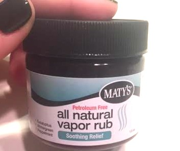 unnamed 32 All Natural Vapor Rub from Matys Healthy Products!