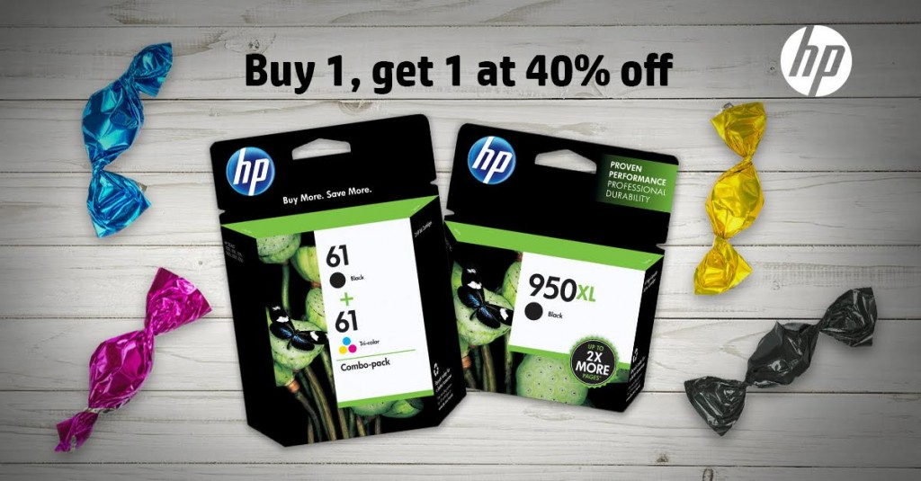 unnamed7 1024x535 Buy one Original HP Ink, get a 2nd cartridge of equal or lesser value for 40% off!! #HPink