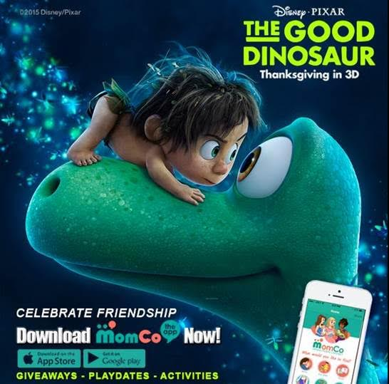unnamed 22 Disney/Pixar and MomCo Partner to Celebrate THE GOOD DINOSAUR!