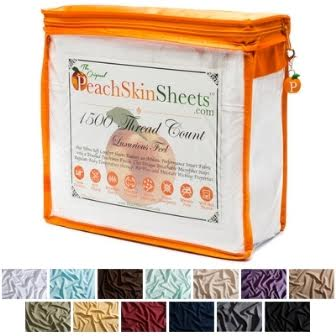 unnamed12 PeachSkinSheets 1500 Thread Count Sheets Review + Giveaway