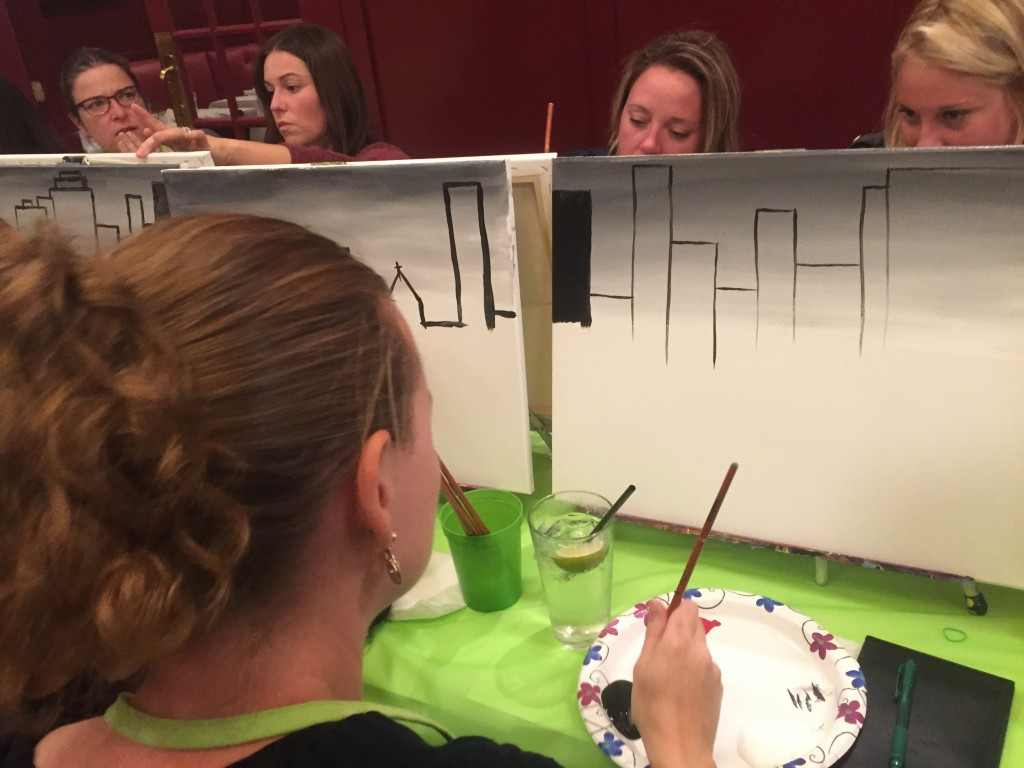 IMG 6242 1024x768 Lets Have Some Fun at Paint Nite! Perfect for Girls Night!