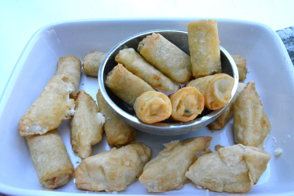 DSC 0768 1024x682 Pagoda Chicken Eggrolls and a Chinese Chopped Salad Recipe for the Chinese New Year!