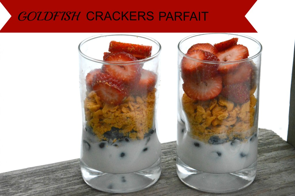DSC 08001 1024x682 A Delicious Goldfish® Crackers Yogurt Parfait Recipe!