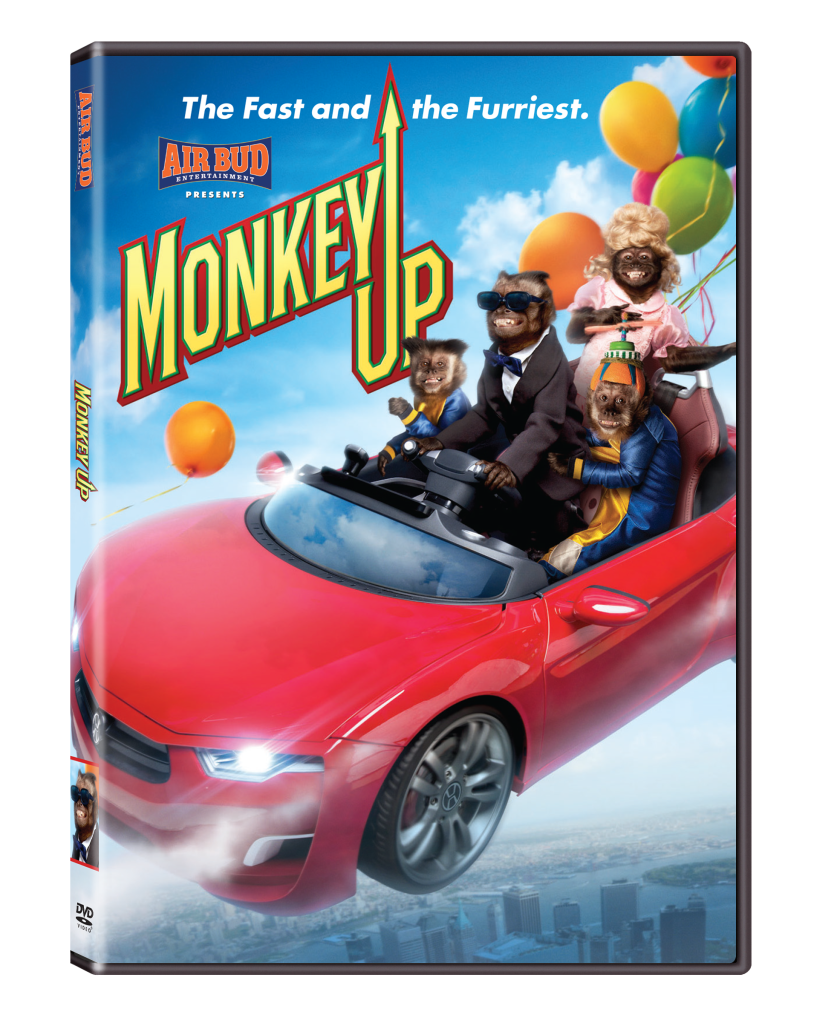 unnamed1 814x1024 The Creators of AIR BUD and AIR BUDDIES Present An Exciting All New Family Movie Monkey Up!