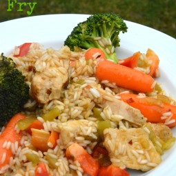 Sesame Chicken Stir Fry Recipe and a Blue Dragon CookBook Giveaway!