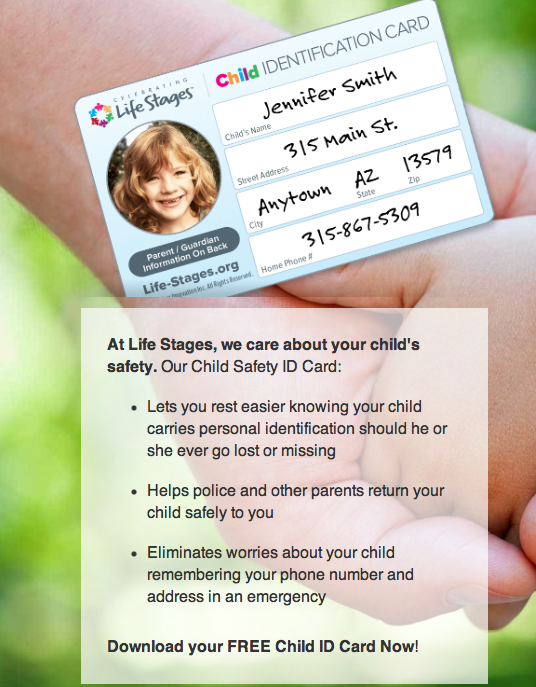 free child safety ID
