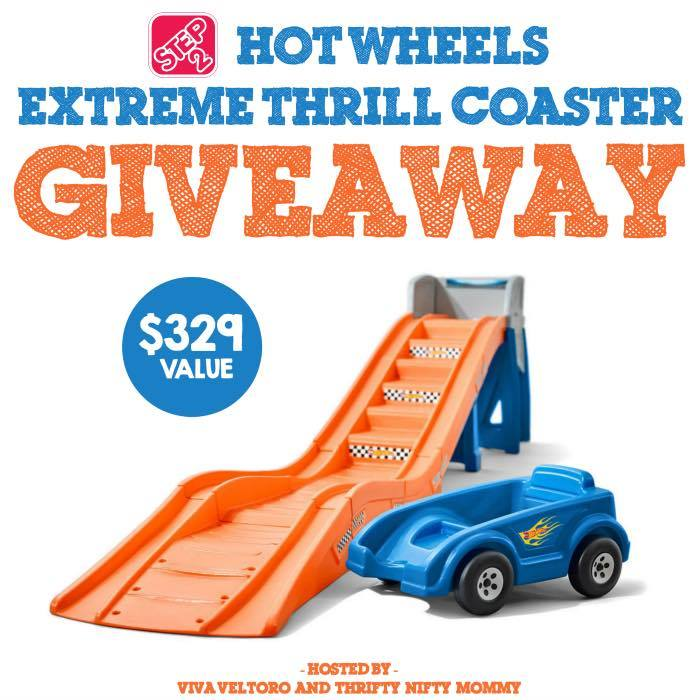 12899643 10108306824454021 710610035 n Step2 Hot Wheels Extreme Thrill Coaster Giveaway!