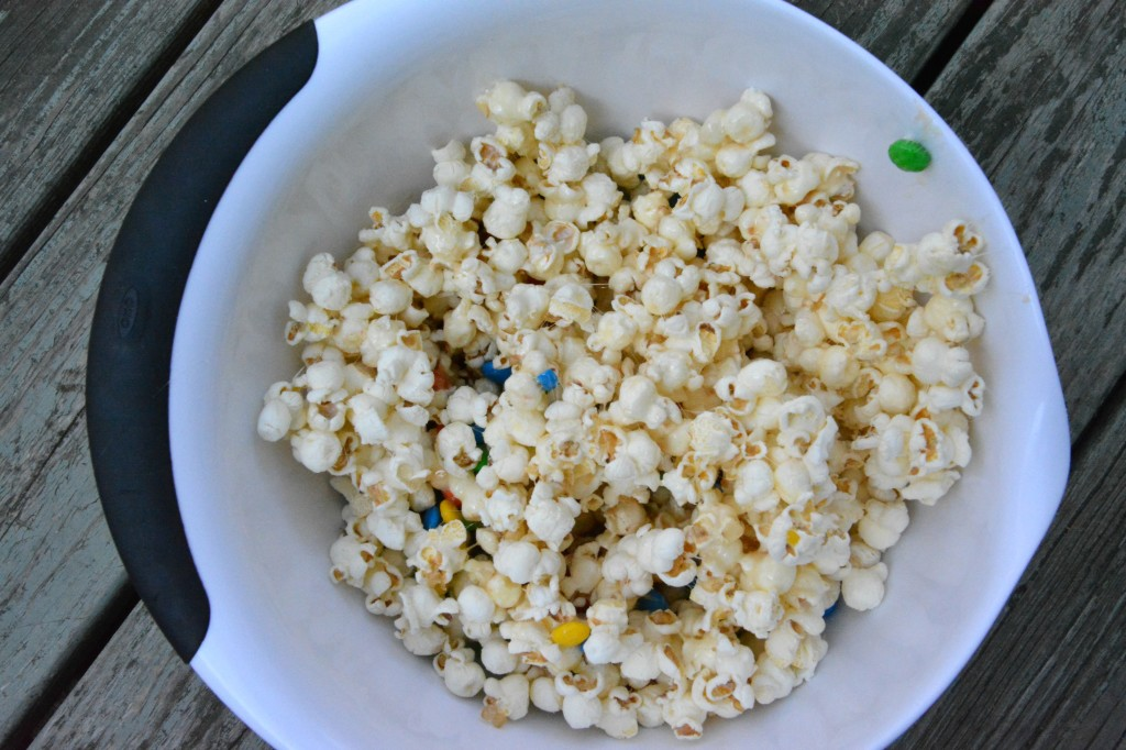 DSC 0946 1024x682 Family Game Night in Three Easy Steps + a M&Ms® Popcorn Ball Recipe!