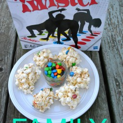 Family Game Night in Three Easy Steps + a M&M's® Popcorn Ball Recipe!