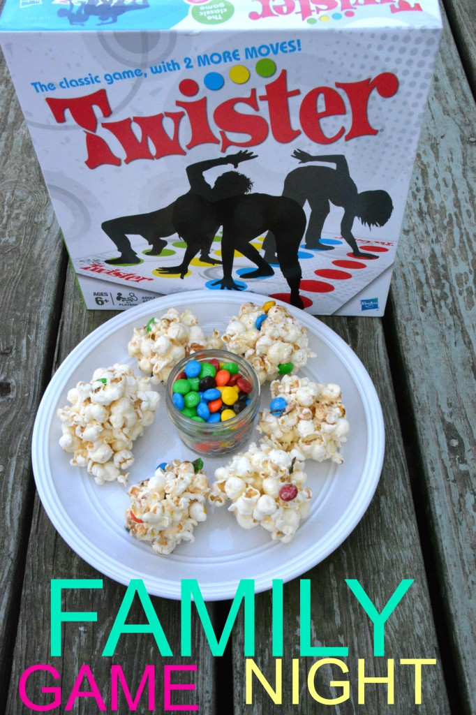 DSC 0957 682x1024 Family Game Night in Three Easy Steps + a M&Ms® Popcorn Ball Recipe!