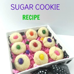 Made From Scratch Jelly Beans Sugar Cookies Recipe for Easter!
