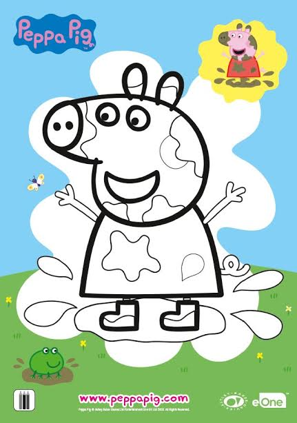 unnamed 3 Peppa Pigs The Golden Boots DVD, App, and TV special!! Come read!