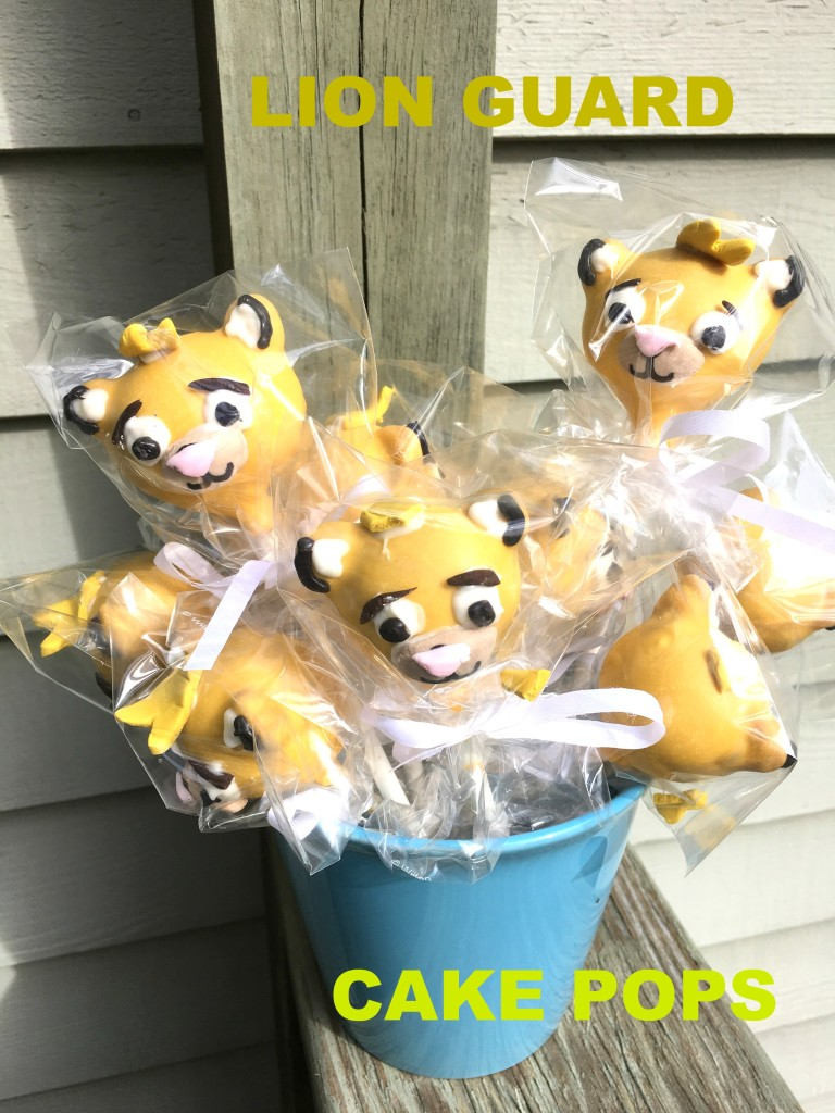 Lion King Cake Pop