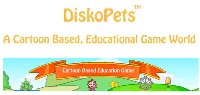 Screen Shot 2016 04 25 at 11.57.32 AM DiskoPets: Cartoon Based, Educational, Game World for Kids on Kickstarter NOW!!