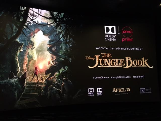 unnamed 156 It was really INCREDIBLE to see THE JUNGLE BOOK at The AMC Prime Dolby Cinemas! #JungleBookEvent