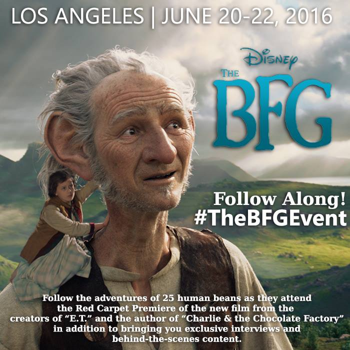 13312877 10156920979285542 8691618412224378788 n I am Heading to LA for the Red Carpet and #TheBFGEvent! Follow along!