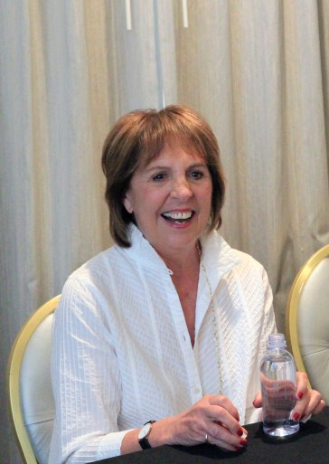 "IMG 4849 My Interview with the AMAZING Penelope Wilton (""The Queen"") & Rebecca Hall (""Mary"")  #TheBFGEvent"