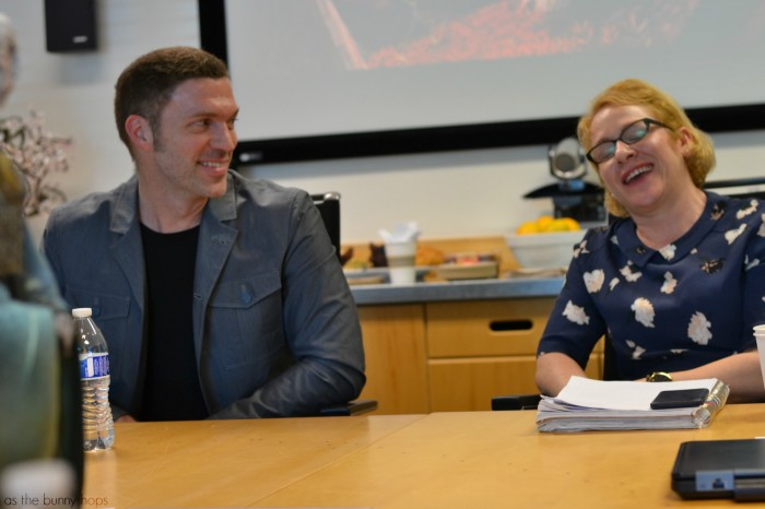 Travis and Arianne 700x466 Travis Knight and Arianne Sutner Discuss Kubo and the Two Strings #KuboMovie