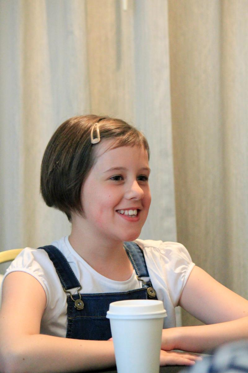 "ruby sm The Most AMAZING interview  Steven Spielberg & Ruby Barnhill (""Sophie"") from #TheBFGEvent!"