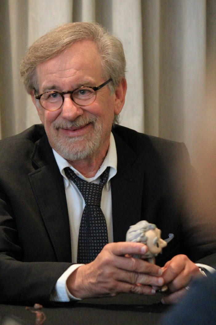 "stevven spielberg 702x1053 The Most AMAZING interview  Steven Spielberg & Ruby Barnhill (""Sophie"") from #TheBFGEvent!"