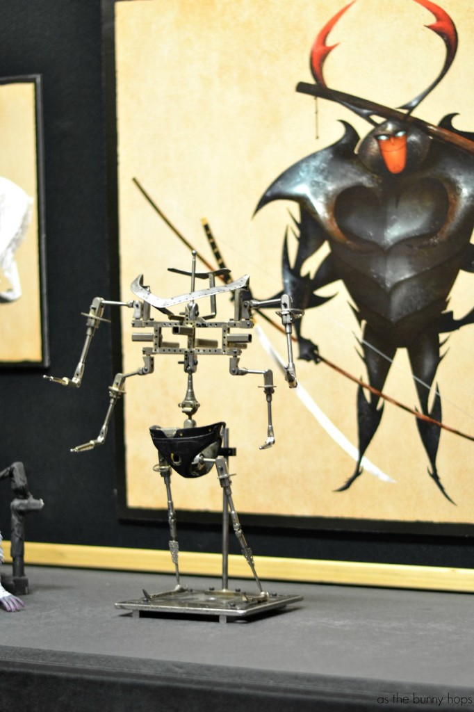 Beetle Armature  682x1024 Making The Puppets of Kubo and the Two Strings #KuboMovie