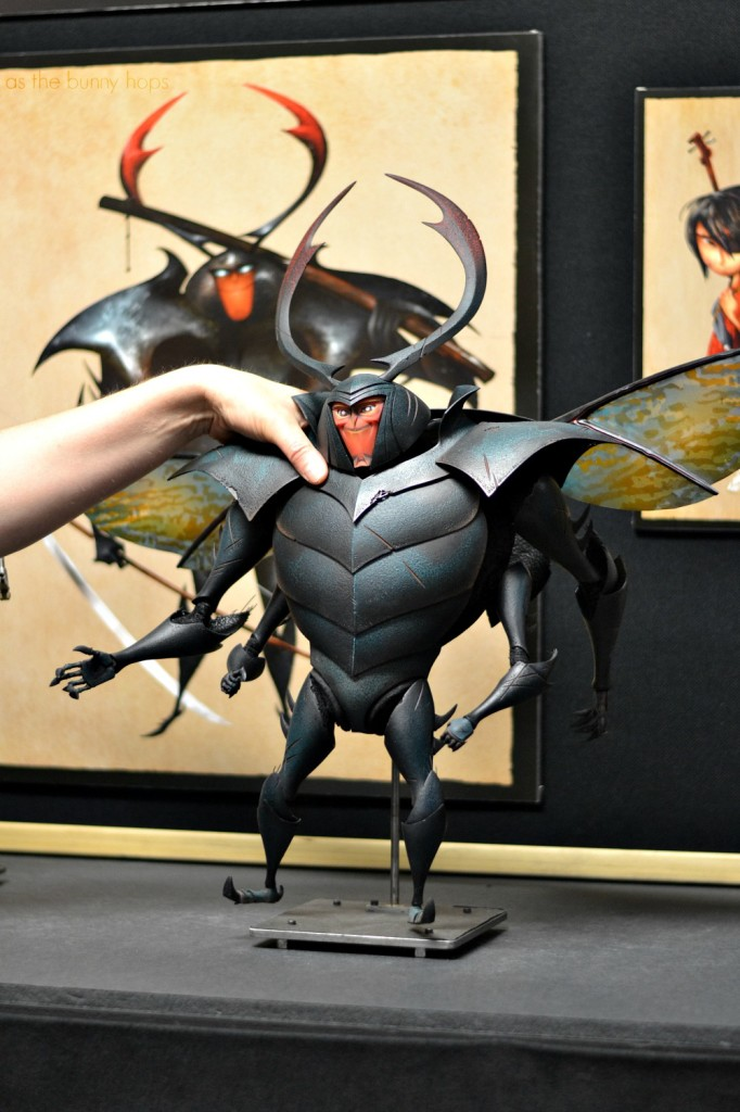 Beetle Puppet 682x1024 Making The Puppets of Kubo and the Two Strings #KuboMovie