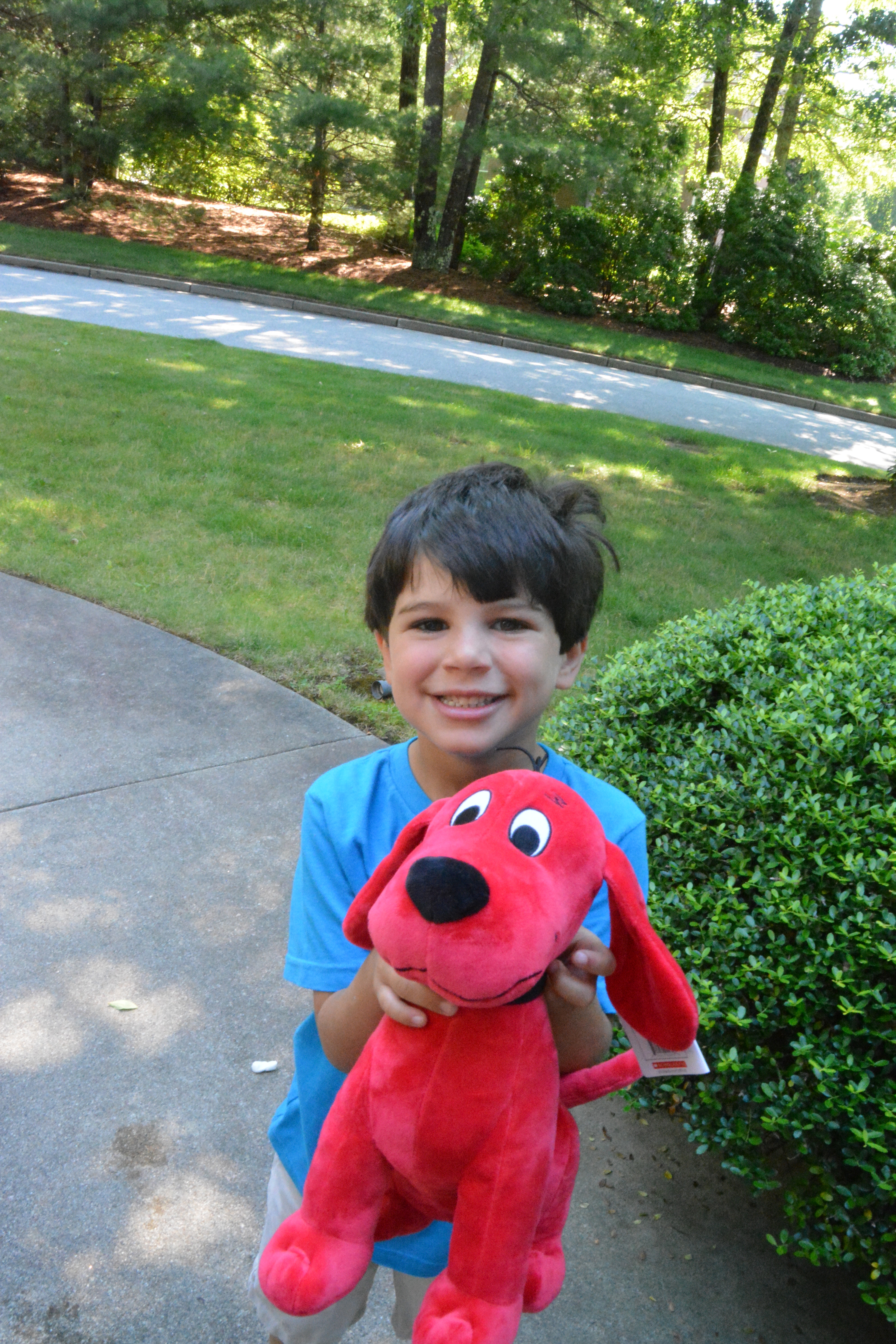 DSC 0264 Kohls Care for Kids and a Kohls Plush Toys /Books Clifford Edition Giveaway!