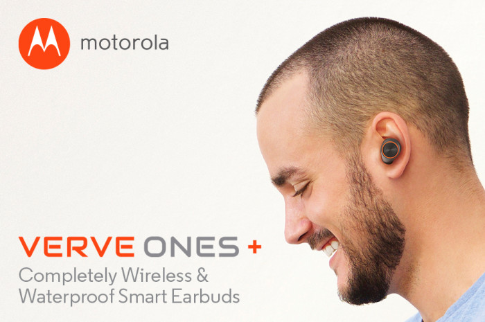VerveOnes+ Lifestyle2+Text 700x465 For all my Listening Needs, I LOVE the Motorola Verve Ones + Wireless Earbuds!