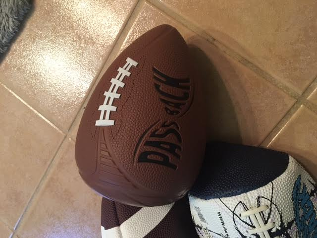 unnamed 5 #1 Football Training Aid  Passback Football!
