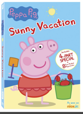 Screen Shot 2016 08 03 at 12.48.22 PM Peppa Pig Sunny Vacation on DVD now!