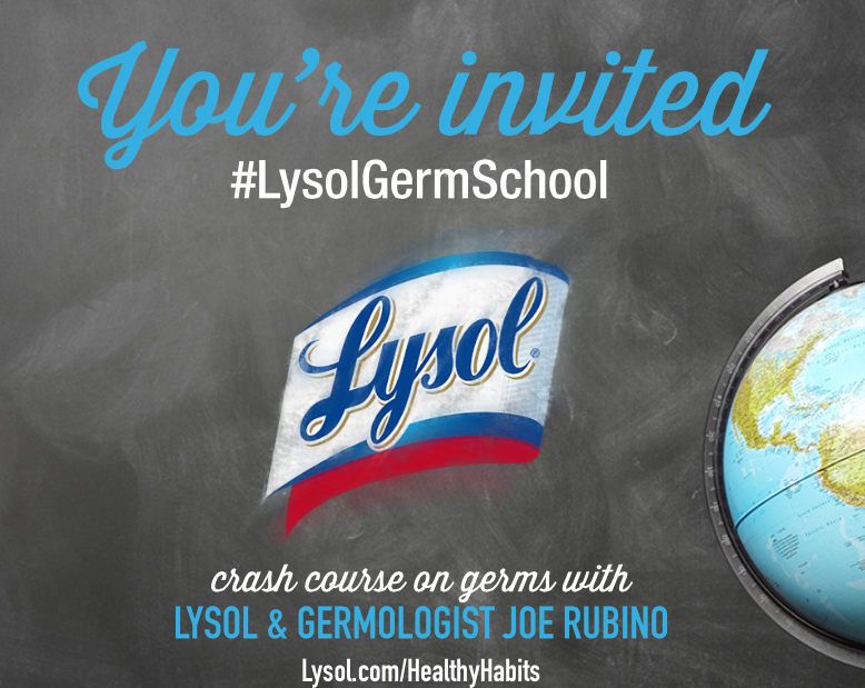Screen Shot 2016 08 09 at 8.51.54 AM I am going Back to School with #Lysol in NYC!  #LysolGermSchool