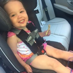My Kids Love Riding in Their Diono Radian RXT Convertible Carseat!