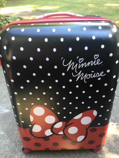 unnamed 27 American Tourister Minnie Mouse Luggage!