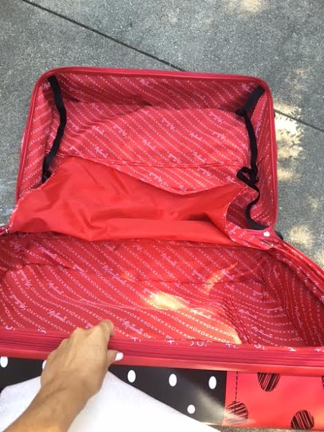 unnamed 38 American Tourister Minnie Mouse Luggage!