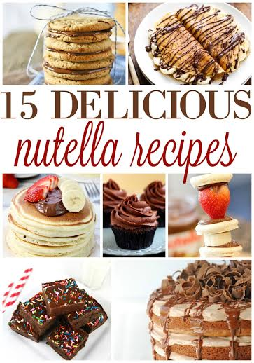 unnamed 61 15 DELICIOUS NUTELLA RECIPES!