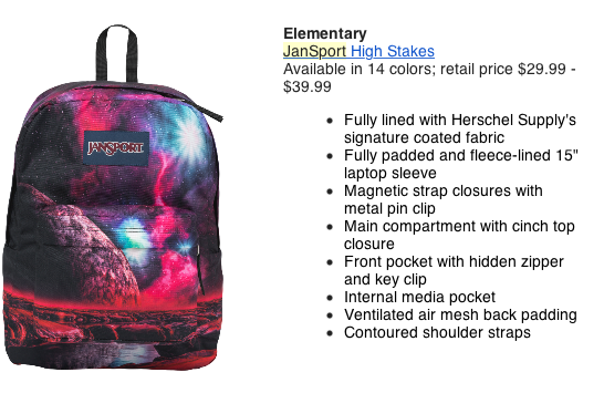 Screen Shot 2016 09 26 at 12.34.42 PM Back to School with Jansport and eBags!