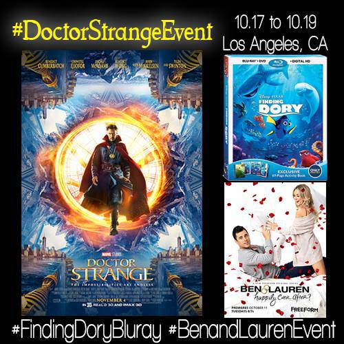 DoctorStrangeEvent Follow Me As I attend The #DoctorStrangeEvent in LA 10/17 10/19!