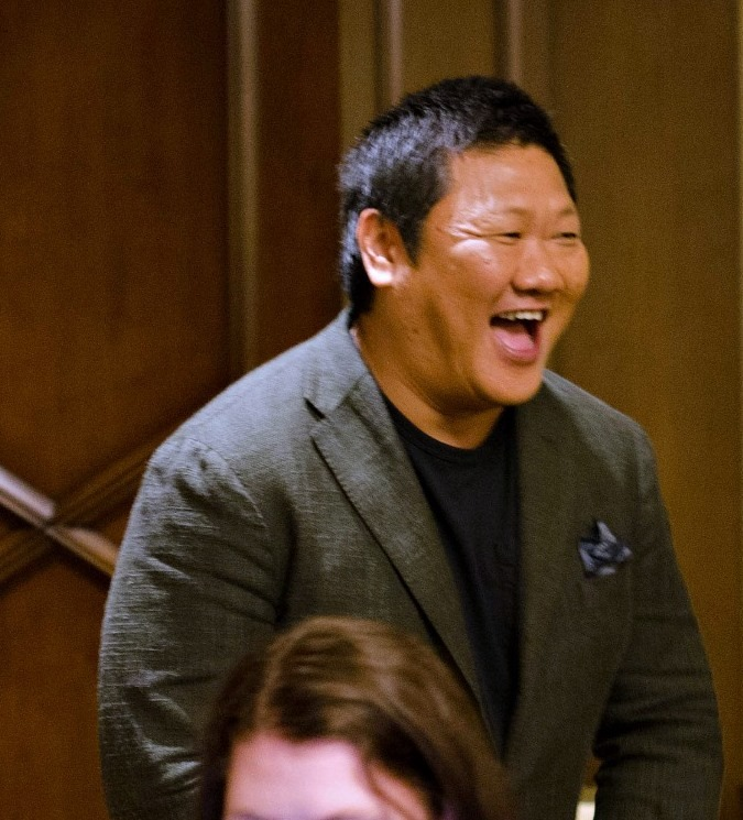 """14657306 10109066943170024 985231752988643208 n My Interview with Benedict Wong (""""Wong"""")! #DoctorStrangeEvent"""