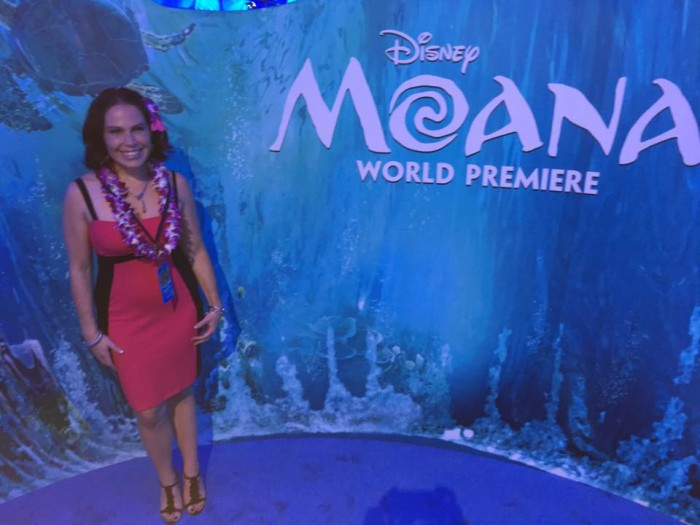 Moana red carpet