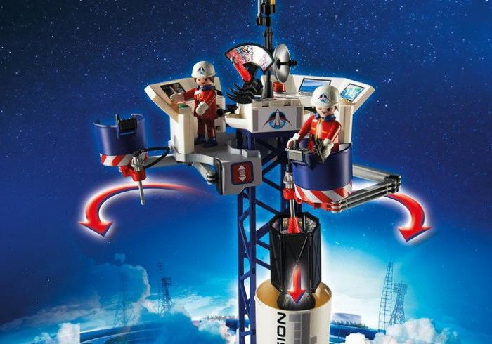PLAYMOBIL Space Rocket with Launch Site  Perfect Gift For the Holidays!