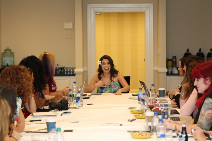 "Aulii 6 1024x683 700x466 My Interview Aulii Cravalho (voice of ""Moana"") #MoanaEvent"