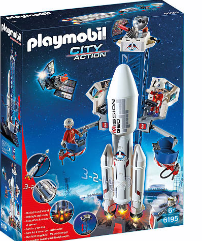 Screen Shot 2016 11 19 at 5.37.03 PM PLAYMOBIL Space Rocket with Launch Site  Perfect Gift For the Holidays!