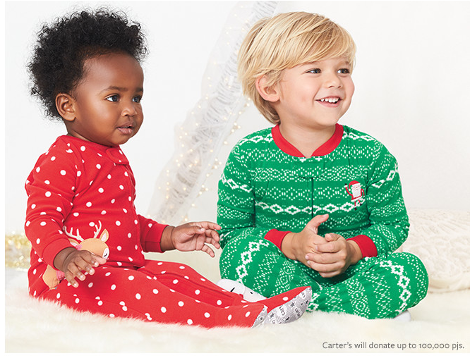 Screen Shot 2016 11 29 at 10.51.42 AM Carters Partnering with One for One Program on #GIVINGTUESDAY! #carterssweetdreams