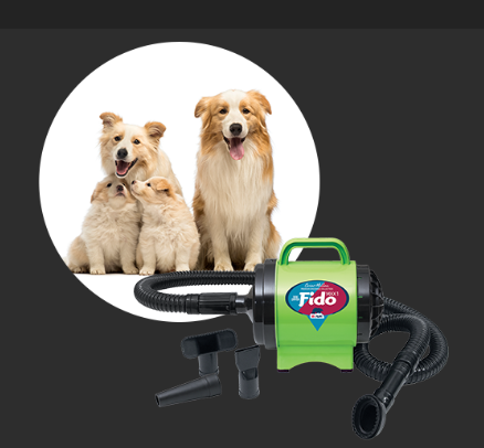 Fido dog dryer