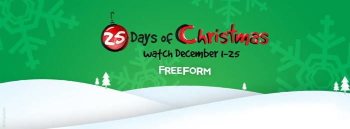 freefor 25 days 700x259 Freeform 25 Days of Christmas 2016! #25DaysOfChristmas  The Full Schedule!