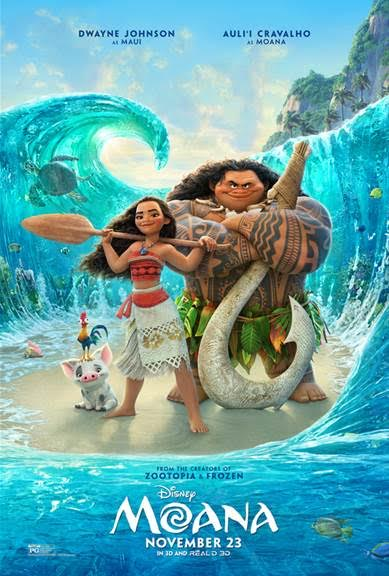 Moana Disney press trip