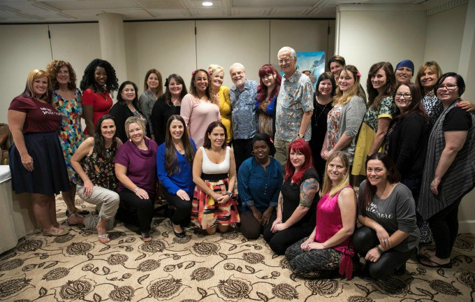 MOANA DIRECTORS GROUP My Interview with directors Ron Clements & John Musker! #MoanaEvent