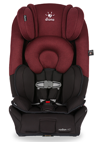 top RadianRXT BlackScarlet Straight Diono Radian RXT Convertible Car Seat Review + Giveaway!